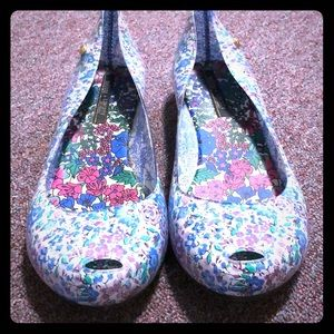 Melissa + Liberty Jelly Flats
